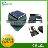 Adjustable panel 12inch 12 watt attic ventilator solar powered desk fan solar powered roof ventilation