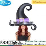 DJ-SD-003Pneumatic tire party Inflatable Hat - Witch inflatable adult party hats