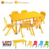 Factory manufacturing cheap kindergarten kids party plastic tables and chairs                                                                         Quality Choice