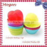 heart and Round baking cups baby muffin cakecup Silicone Baking Cups,Cupcake Liners