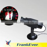 FRANKEVER 12W outdoor logo projector light popular logo floor projector