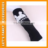 wholesale elastic leg warmers japanese cute rabbit logo knitted warm leg warmers sexy leg warmer PGLW-0014