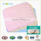 Waterproof bamboo fabric baby care underpads baby urine pad bed bug bed covers