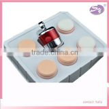 high quality professional cosmetic powder puff auto vibrating powder puff