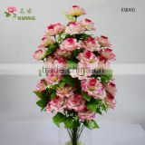 48 heads artificial roses tree cheap funeral arrangement grave flower