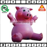 inflatable pig,giant advertising inflatable pig for event,outdoor inflatable pink pig for promotion
