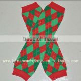 Wholesale Baby Christmas Leg Warmers custom legwarmers for babies