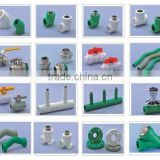 PP-R Material and Welding Connection ppr pipes and fittings KALDE PPR PEX PIPES KALDE FITTINGS DZR BRASS FITTINGS