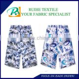 micro peach skin fabric for beach shorts