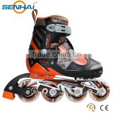 2015 New style aggressive skates professional adjustable inline skate Big Wheels 100mm Aluminum Frame With CE Approval