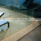 Clear Glass Divider For Office YG-P025