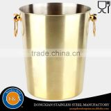2016 new products galvanized metal cheap beer bucket