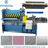 strict quality control professional roof tile sheet metal embossing making machine