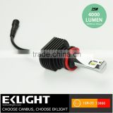 Auto Car Truck Accessory Part 12v 24v 3000LUX Emark LED Headlight Bulbs Light Kit H1 H3 H7 H11