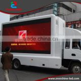 evershine P10 led advertising mobile billboard truck with DIP LED light