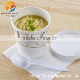 Fried Chicken Paper Bowl for Rice Soup Water Food Container