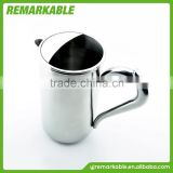 High-capacity 304# Characteristic handle Stainless steel milk kettle water pot milk boiling kettle