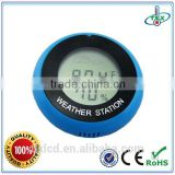 Mini Lcd Weather Station With Suction Cup/Clip/Magnet