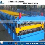 Colors Steel Plate Double Layer Roof Roll Forming Machine / Corrugated Roof Tile Roll Forming Machine