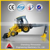 4wd backhoe, high quality chinese backhoe, new 6t 7t 8t articulated chinese backhoe loader