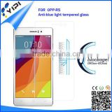 Tempered glass film anti blue light screen protector for OPP R5 anti blue ray screen protector from china supplier