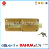 HOT SALE HIGH QUALITY GOOD PRICE DOUBLE CYLINDER CONTROL LOCK MULTI THROWS RIM LOCKS P80F FOR HOUSE DOOR