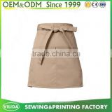 Promotion bars restaurant Waist Apron / Women decorative Short Waist Apron