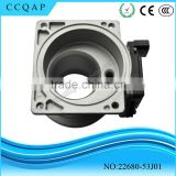 22680-53J01 Wholesale best cheap price hitachi electrical mass air flow meter / sensor for Sentra Infiniti