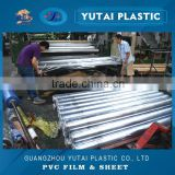 rolled soft transparent clear pvc film for mattress beding wrapping packing, china factory supplier