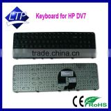 Wholesale laptop keyboard for HP Pavilion DV7 DV7-4000 series US layout