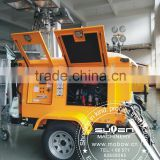 Pneumatic rotating hydraulic Mobile light tower outdoor employ