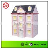 Three Storied Wooden Dollhouse