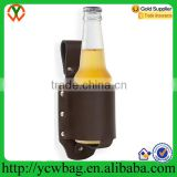 Classic real leather Beer Holster Beer can holder