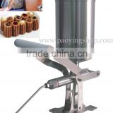Stainless Steel 2.3L Manual Spainish Churros Nutella Filling Machine