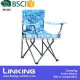 folding chair with camo pattern