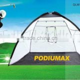 2015 newest Indoor/Outdoor Foldable practice golf net for practising with chinese facotry price