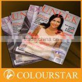 2015 High quality fashion magazine printing / Book Printing / Catalog Printing
