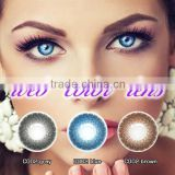 comfort cosmetic popular various design latest stylecontact lens beauty eye contact lens 3 tone natural color contact lenses