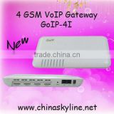 INquiry about 8 Port/ChannelGoIP GSM Gateway GoIP-4I with Antennas Built-Inside Motherboard Easy Pass The Customs