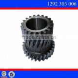 Sino Truck Howo Parts Double Gear Spare Parts in Truck Gearbox Gear 1292 303 006 (1292303006)