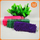 students fabric chenille fashion colorful pencil bag