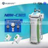 Hot Sale Newest Body Slimming Cryolipolysi + Skin Tightening Vacuum Cavitation RF Skin Tighening Face Lifting Machine Fat Melting