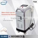 Diode Laser Hair Removal Machine CL-8922 With Germany Laser Men Hairline Bar 20 000 000 Shots Laser Hair Removal Whole Body