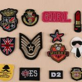 High Quality Eco-friendly Custom Embroidered Patches Iron On Embroidery Badge