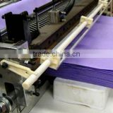 Best sale Non woven sack Cutting Machine,PP rolls fabric Machinery Sheeter supplier