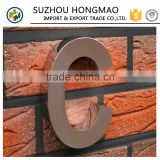 3D Stainless Steel Hotel Room Number Signs,House Number Plate