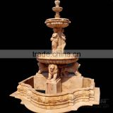 buy garden fountain in bronze or in marble (customized service)
