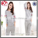 latest women clothing fancy cute pajamas for girls sleeping pajamas suit china supplier
