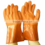 hot sale industrial PVC gloves