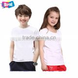Wholesale Cheap Summer Unisex Cotton Children T Shirt For Boy And Girl